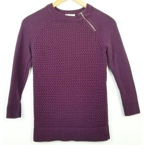 3/$25 Loft Factory small purple pullover sweater